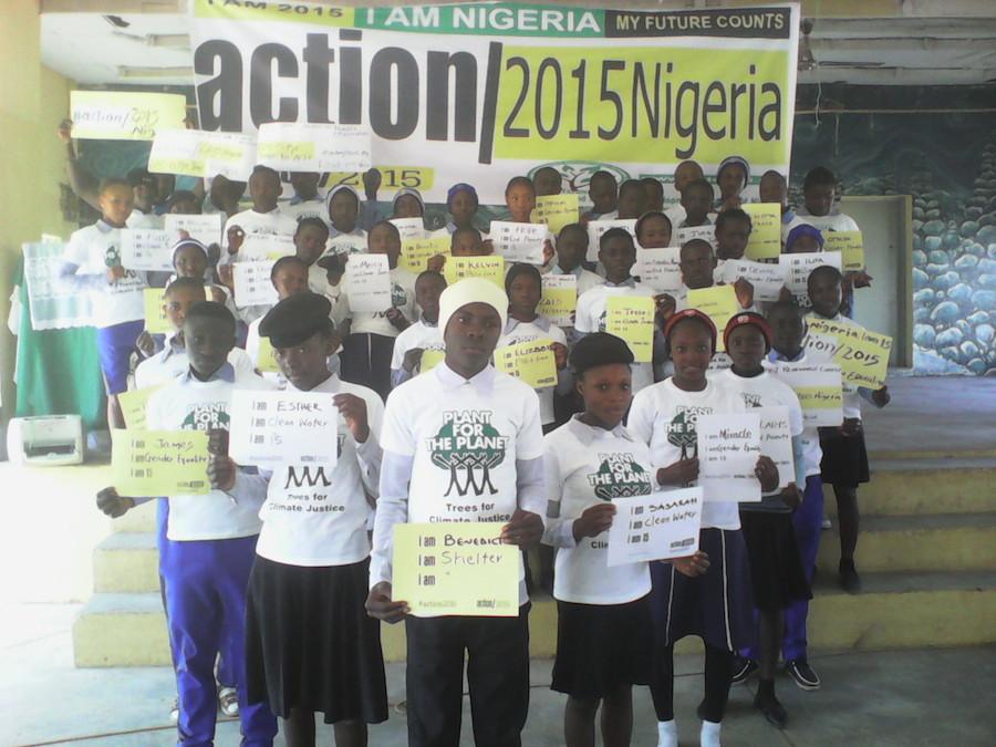 action2015Nigeria Launch in Jos, North-Central Nigeria