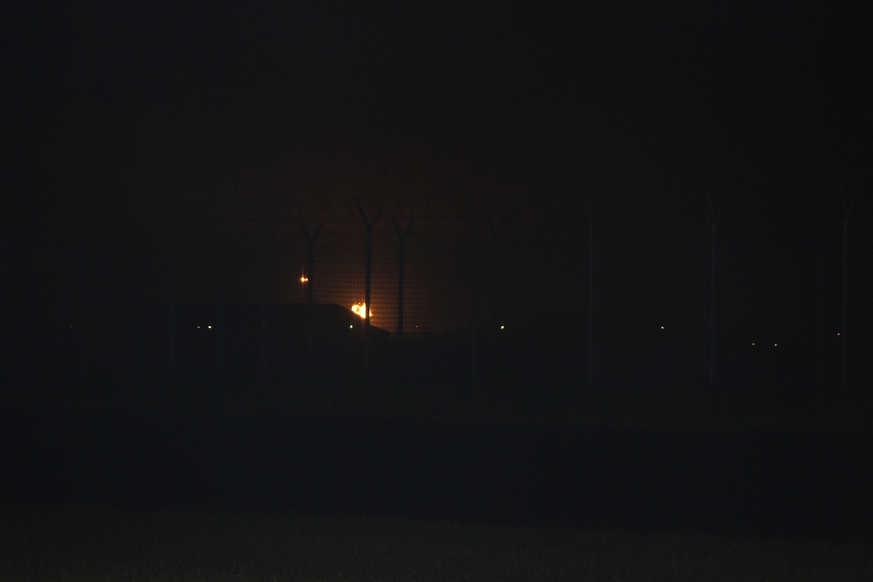 gas flaring, a permanent feature of night life in Ibeno