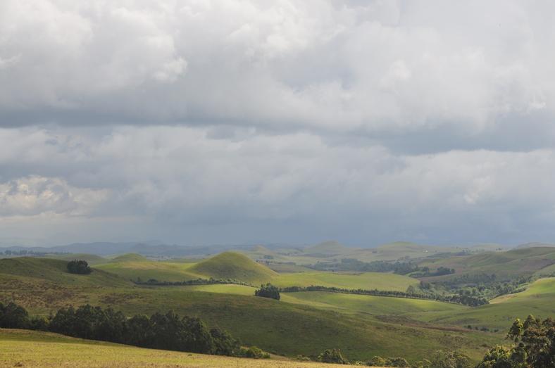 A view of Mambilla Plateau, Nigeria
