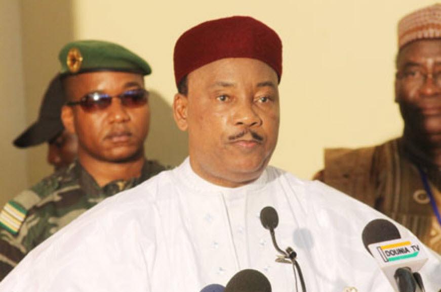 Mahamadou Issoufou, président de la République du Niger
