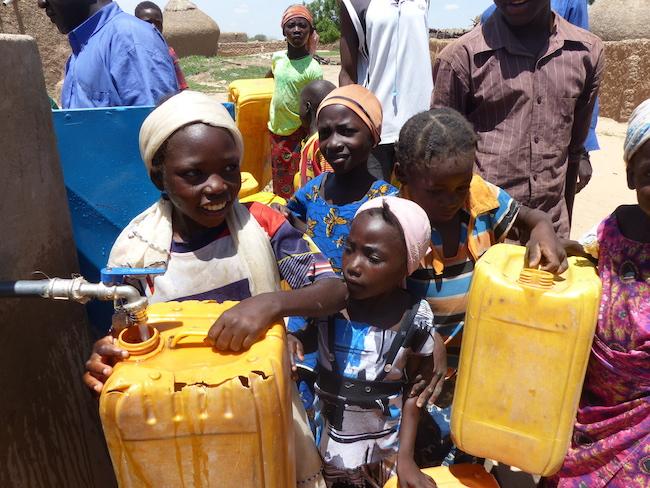 l'Accès à l'eau potable (PHOTO: Climate Reporters/Kané Illa)