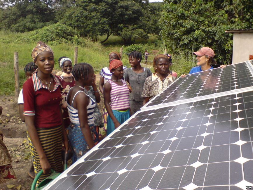 A solar project in Nigeria (PHOTO: Greentech)
