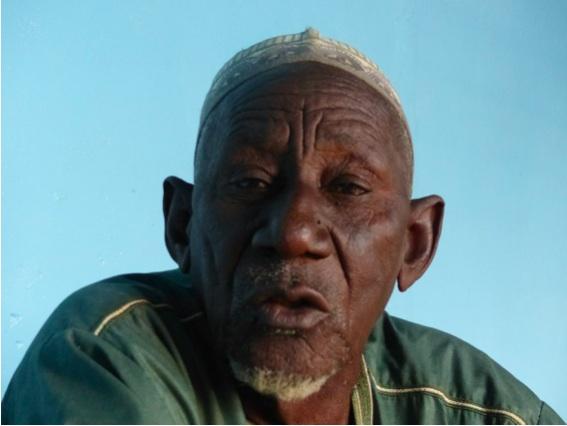 Elhadj Seini Yacouba, Président de la Fédération des pêcheurs du Niger (PHOTO: ClimateReporters/Kané Illa)