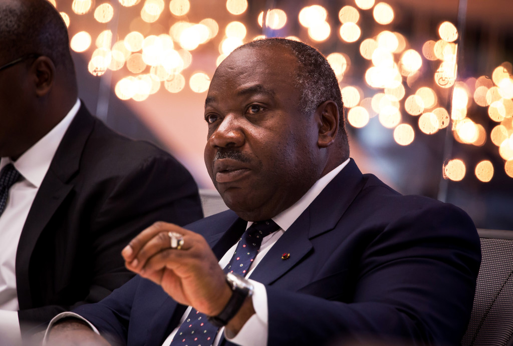 Ali Bongo Ondimba during an interview in New York, U.S., April 20, 2016. (PHOTO: MICHAEL NAGLE/BLOOMBERG/GETTY IMAGES)