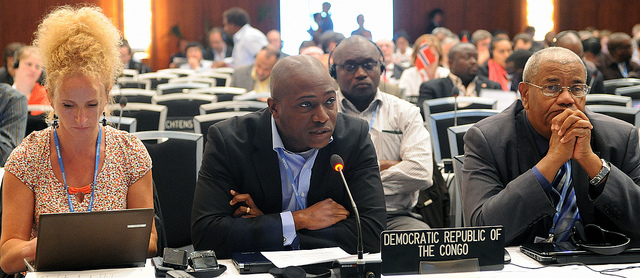 Tosi Mpanu-Mpanu, Democratic Republic of Congo, speaking on behalf of the LDC Group