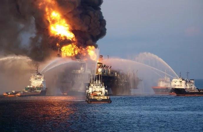 Militants blowup Chevron Valve Platform in Nigeria's Delta state.