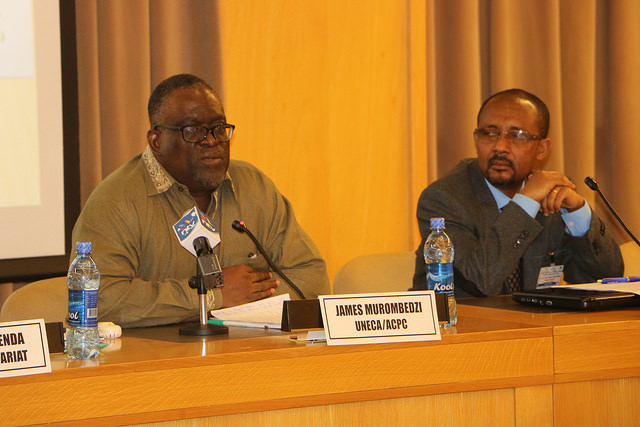 ACPC's Officer in Charge, James Murombedzi (PHOTO: ClimateReporters/Atayi Babs)