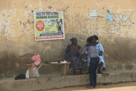 A semblance of health services on offer at Iddo Sarki Health centre (PHOTO: Mimiola Olaoluwa)