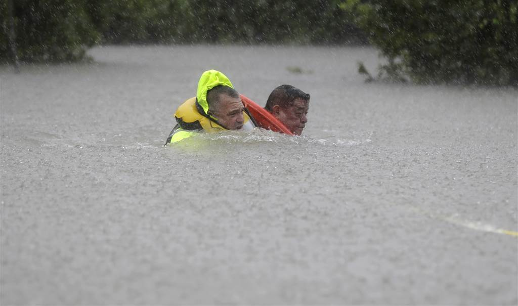 Hurricane Harvey persists