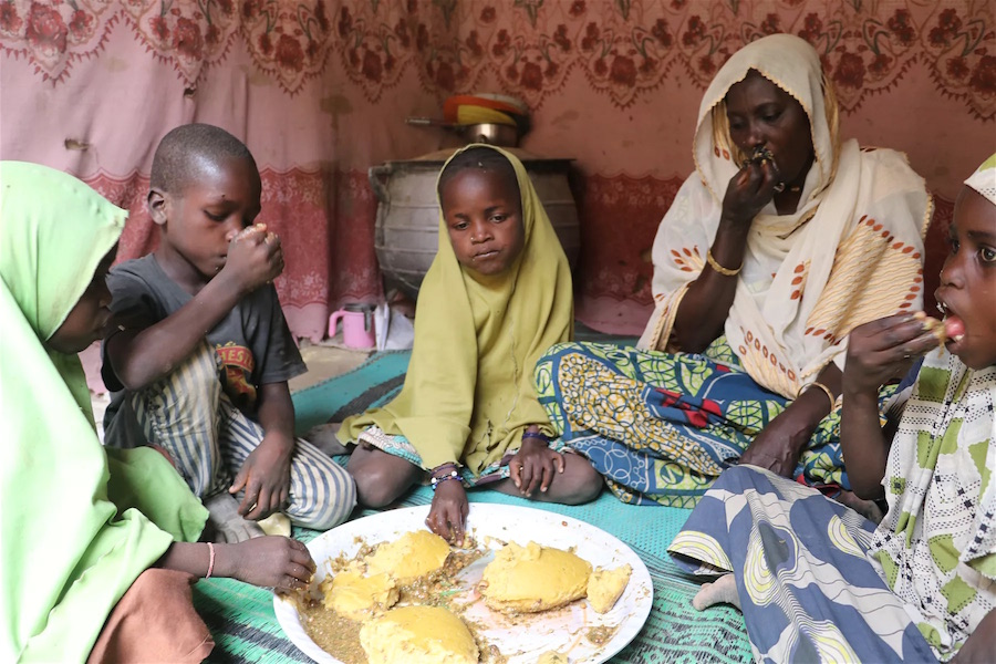 Food assitance in North-East Nigeria