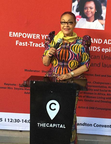 H.E. Ms. Correa Leonel Josefa Sacko COMMISSIONER FOR RURAL ECONOMY & AGRICULTURE AFRICAN UNION COMMISSION.