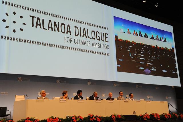The Talanoa dialogue for climate ambition (PHOTO: UNFCCC)