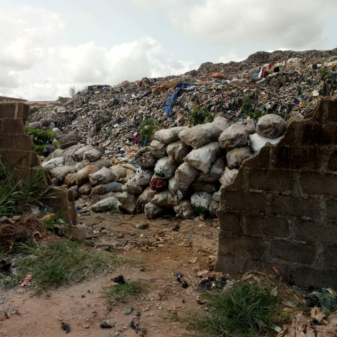 One of the Isheri dumpsites