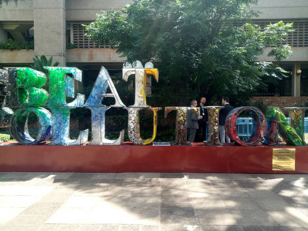 Beating Plastic Pollution (PHOTO- ClimateReporters:atayibabs