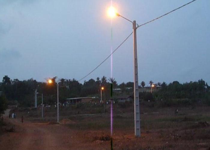 Vers l'électrification de tous les villages de plus de 500 habitants