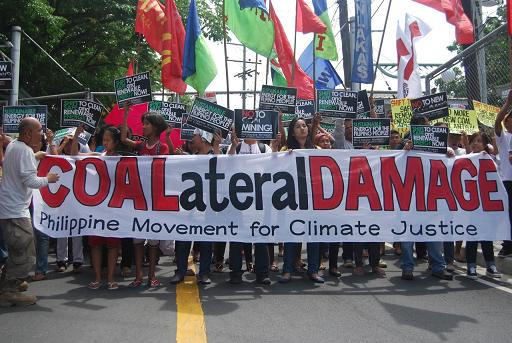 Philippine climate activists expose risks of dirty coal