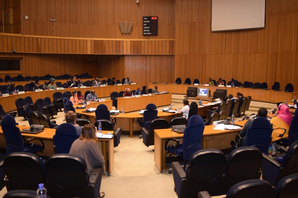The Peace and Security Council (PSC) of the African Union (AU)